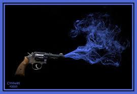 smoking gun