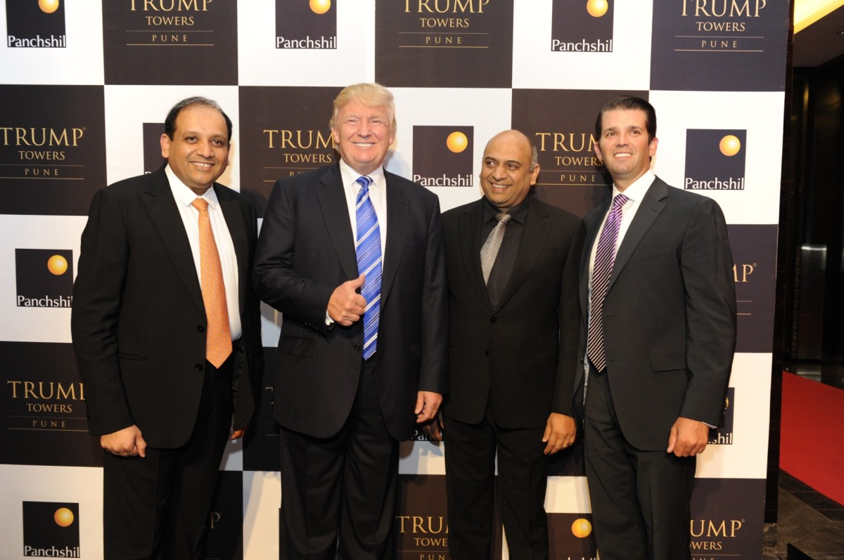 Donald Trump Goes to India