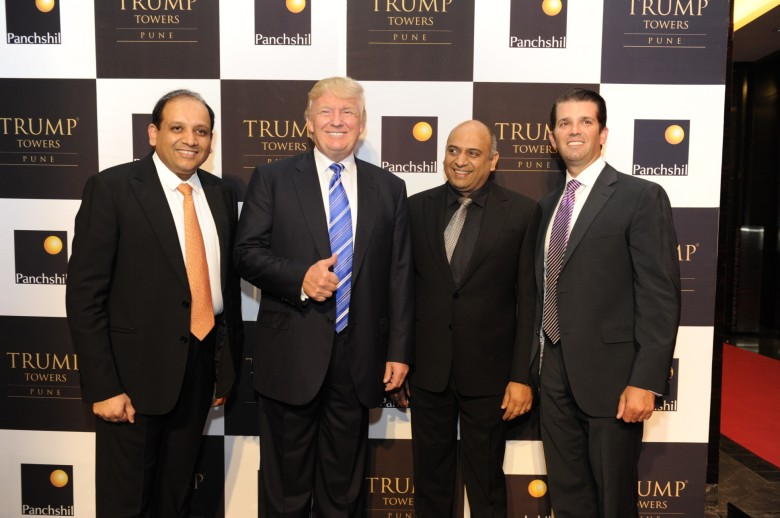 The Trump Strikes a Chordia. Courtesy Forbes
