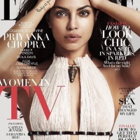 Priyanka on the Cover of Elle magazine