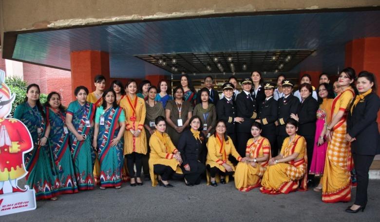 AIs-all-women-crew-for-the-longest-non-stop-flight